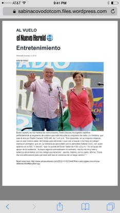 El Nuevo Herald Entretenimiento Radio Show