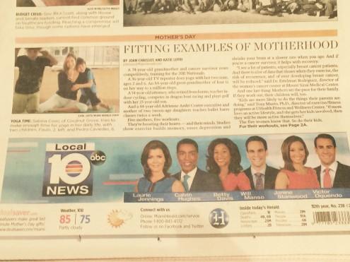 Sabina Covo Miami Herald Cover