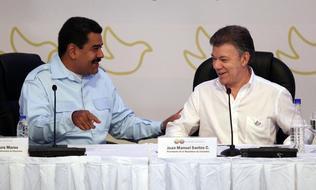 Nicolas Maduro visita Cartagena