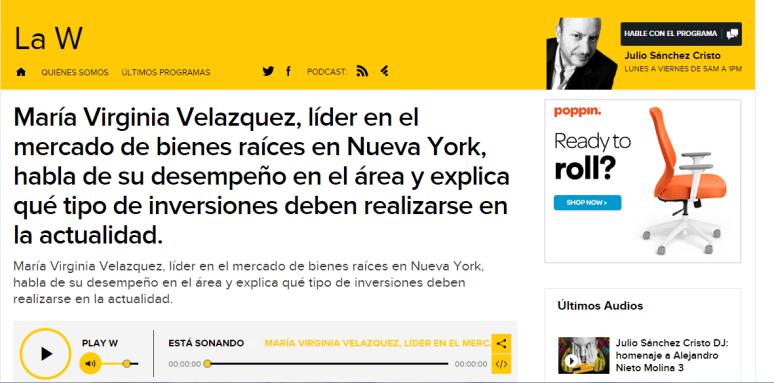 http://www.wradio.com.co/escucha/archivo_de_audio/maria-virginia-velazquez-lider-en-el-mercado-de-bienes-raices-en-nueva-york-habla-de-su-desempeno-en-el-area-y-explica-que-tipo-de-inversiones-deben-realizarse-en-la-actualidad/20120306/oir/1649900.aspx